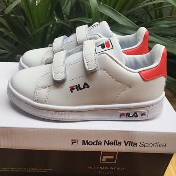 Fila Girls Boys Children Baby Toddler Kids Child Fashion Casual Sneakers Sport Shoes
