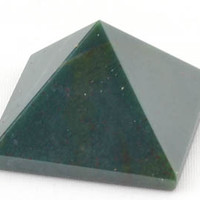 25-30mm Bloodstone pyramid [GPYBS] - $10.95 : Magickal Products, Crystals, Tarot Decks, Incense, and More!