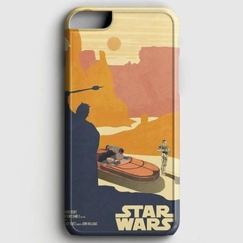 Star Wars Vintage Poster iPhone 8 Plus Case | casescraft