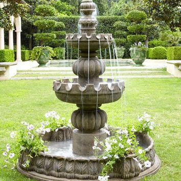 Neiman Marcus Three-Tier Castle Fountain