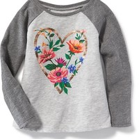 Graphic Swing Tee for Toddler Girls | Old Navy