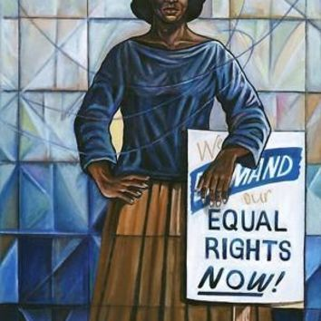 Equal Rights Anthony Armstrong Art Print