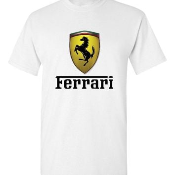 Ferrari White T-Shirt