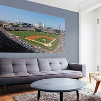 Chicago Cubs Wrigley Field Mural