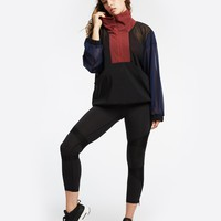 Michi Stratosphere Pullover - Black/Earth Red/Deep Sea Navy