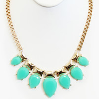 Mint Briseis Necklace Set