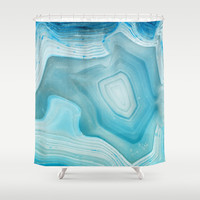 THE BEAUTY OF MINERALS 3 Shower Curtain by Catspaws | Society6