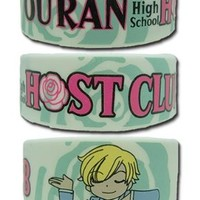 Ouran High School Host Club - SD Haruhi Pvc Wristband