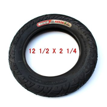 Tire 12 1/2 X 2 1/4 ( 62-203 )  fits Many Gas Electric Scooters and e-Bike 12 1/2X2 1/4