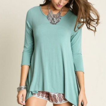 Lindsey Mint Tunic