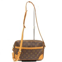 Tagre™ Authentic Louis Vuitton Shoulder Bag Trocadero 27 M51274 Browns Monogram 16820