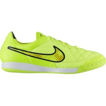 Nike Men's Tiempo Legacy IC Indoor Soccer Shoe - Volt/White/Black | DICK'S Sporting Goods