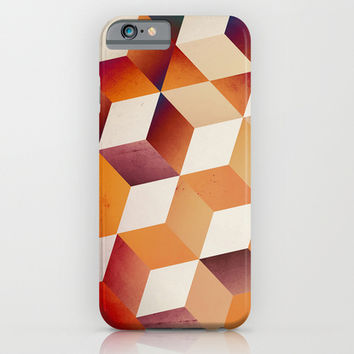 Oil Slick Cubes iPhone & iPod Case by DuckyB (Brandi)