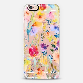 Clear From the Garden iPhone 6s case by Pineapple Bay Studio | Casetify
