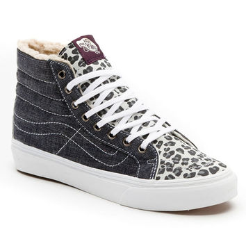 Vans - Skate Hi Slim Glacier Grey Girls Shoes