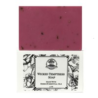 Wicked Temptress Shea Herbal Soap Bar with Essential Oils & Pheromones for Attraction, Seduction, Passion & Love