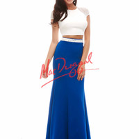 Mac Duggal Two Tone Prom Dress 82376A