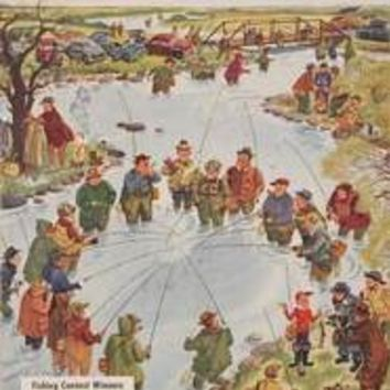 FIELD & STREAM: April 1952