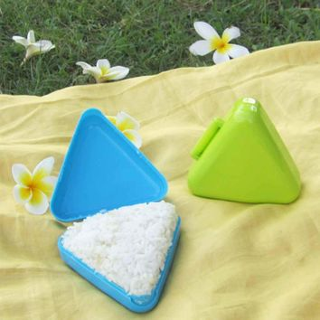 1PCS Triangle Form Sushi Mold Onigiri Rice Ball Bento Maker Mold DIY Tool