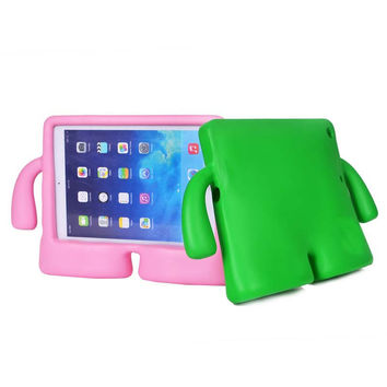 Newest 3D Cute TV Shape Kids Shockproof EVA Foam Case For Apple iPad 5/6 Tablet Cover Housing For iPad Air / iPad air 2