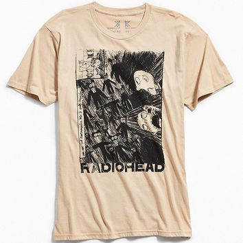 Radiohead Scribble Tee | Urban Outfitters