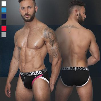 Fear Thigh Coarse high A No Constraint Pure Cotton Male Triangle Underpants