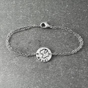 Boxer Bracelet Personalized With Your Pets Name