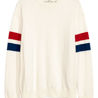 Knit Cotton Sweater - from H&M