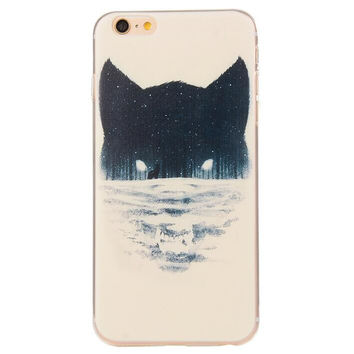 Cool Wolf Case Ultrathin Cover for iPhone 5se 5s 6s Plus Gift 42
