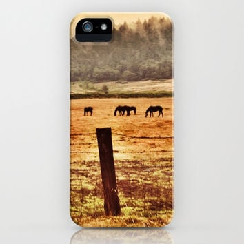 Dark Horse Day iPhone & iPod Case by Mark_jones