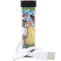 Disney Beauty And The Beast Stained Glass Rechargeable Power Bank