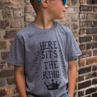 Here Sits the King Tee