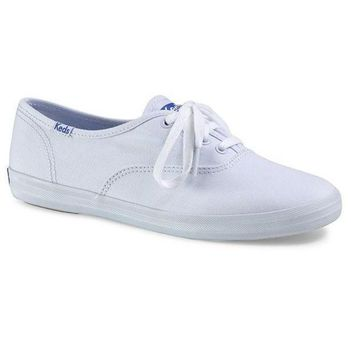 ONETOW Keds Champion - White Canvas Low-Top Sneaker