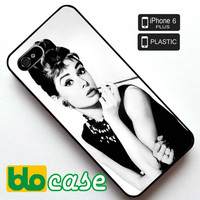 Audrey Hepburn, Breakfast at Tiffany's Iphone 6 Plus Plastic Case