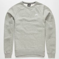Nike Sb Icon Mens Sweatshirt Heather  In Sizes