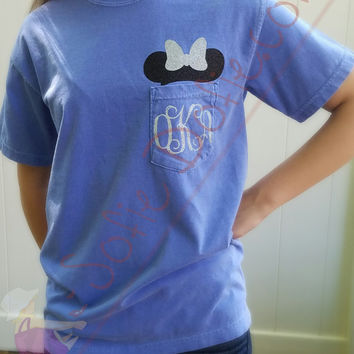 Minnie Mouse Shirt/Disney Shirt/Short Sleeve Shirt/Comfort Colors Shirt