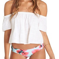 Billabong La Bohème Off the Shoulder Cotton Top | Nordstrom