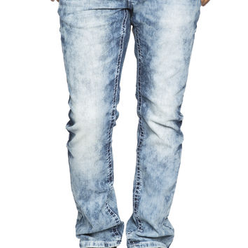 Guys Slim Straight Jean - Cloud Wash