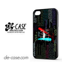 Twenty One Pilots Quote DEAL-11480 Apple Phonecase Cover For Iphone 4 / Iphone 4S