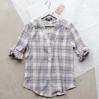 Go North Plaid Top