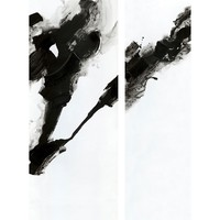 RORSCHACH WALL DCOR SET OF TWO