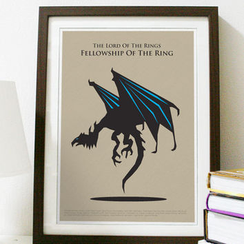 The Lord of the Rings The Fellowship of the Ring by Posterinspired