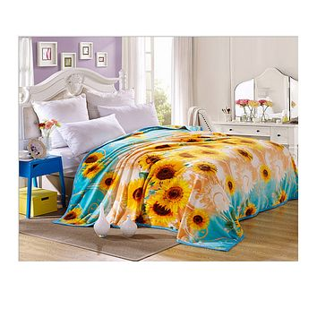 Cloud Mink Cashmere Thick Warm Blanket Flannel lBanket Gift Blanket Bunk Specials 200cm 01