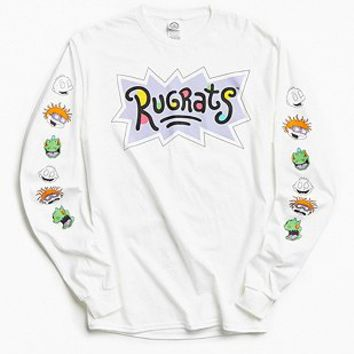 Rugrats Faces Long Sleeve T-shirt - Urban Outfitters