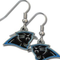 NFL Carolina Panthers Dangle Earrings