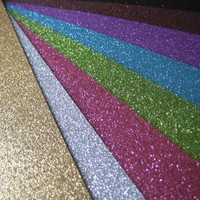 12 x 12 Mega Bling Glitter Paper BULK (Set of 4 Sheets = $3.99/Sheet) 20 Colors! [Bulk Glitter Paper] : Wholesale Wedding Supplies, Discount Wedding Favors, Party Favors, and Bulk Event Supplies