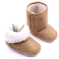Padded Infant Boots Newborn 1-3 Years