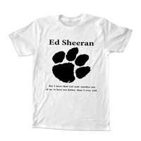 ed sheeran lyrics quote T-shirt unisex adults