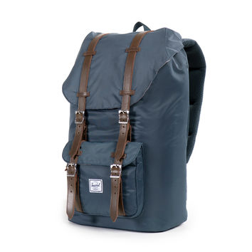 Herschel Supply Little America Nylon Backpack - Navy