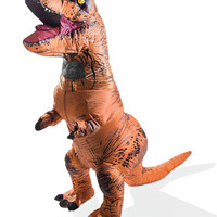 Inflatable Dinosaur Costume: Air-filled dino disguise.